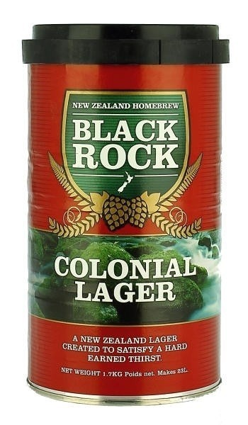 MALTO BLACK ROCK COLONIAL LAGER