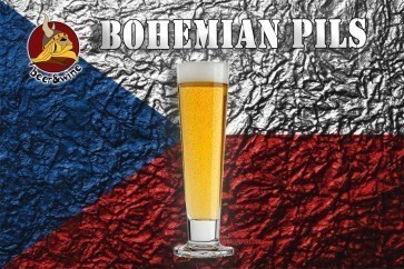 KIT RICETTA ALL GRAIN B&W - BOHEMIAN PILSNER 25 LT