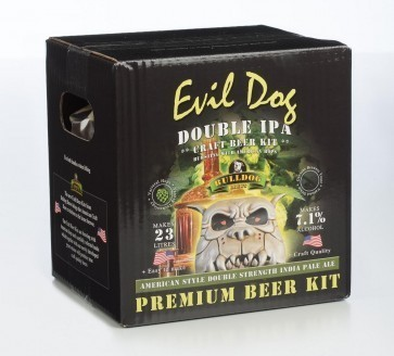 MALTO BULLDOG EVIL DOG DOUBLE IPA (KG. 4,7)