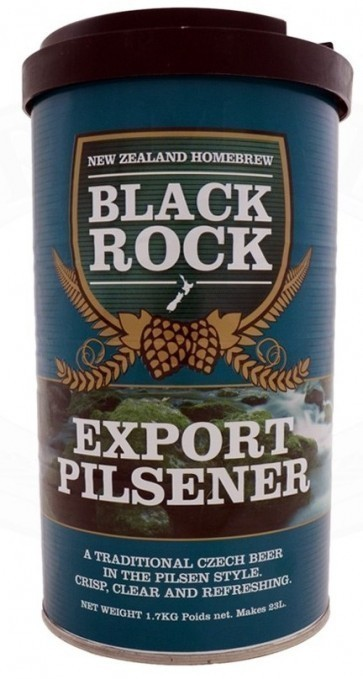 MALTO BLACK ROCK EXPORT PILSNER (KG. 1,7)