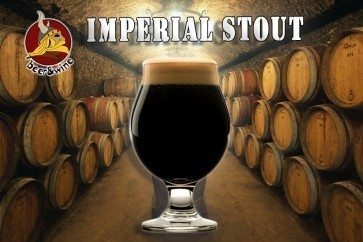 KIT RICETTA ALL GRAIN B&W - IMPERIAL STOUT 18 LT