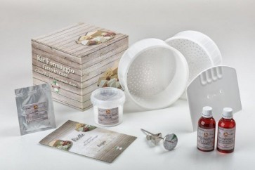 KIT CAMEMBERT TERMOMETRO INOX + COLTURA VEGETARIANO