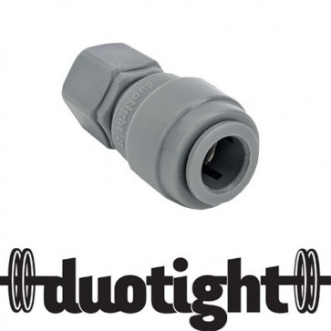 "RACCORDO RAPIDO DUOTIGHT - 8MM (5/16"") X 7/16"" FFL"