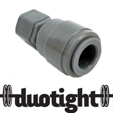 "RACCORDO RAPIDO DUOTIGHT - 9,5MM (3/8"") X 7/16"" FFL"
