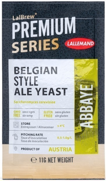 LIEVITO LALLEMAND ABBAYE BELGIAN STYLE ALE - GR.11