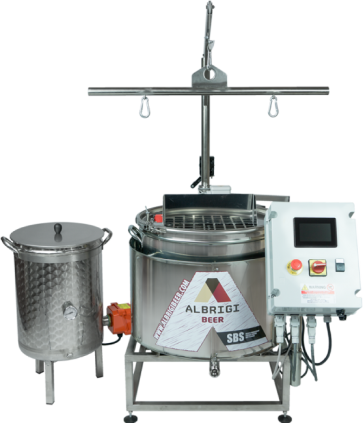 IMPIANTO SBS 100 E SMART BREWERY SYSTEM