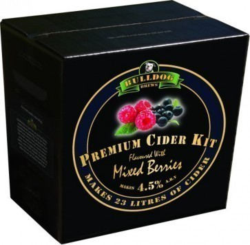 BULLDOG MIXED BERRIES FLAVOURED CIDER (KG. 3)