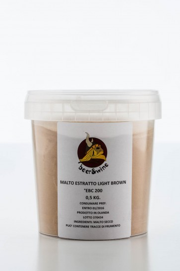 ESTRATTO LIGHT BROWN (500 GR. )