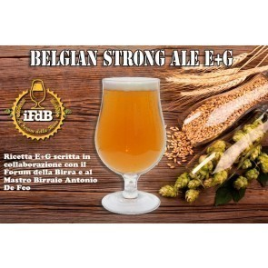 KIT BIRRA E+G BELGIAN STRONG ALE (20 LT.)