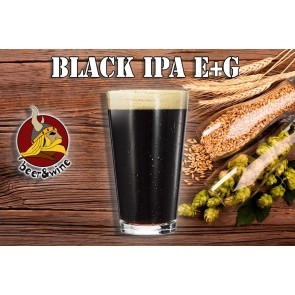 KIT BIRRA E+G BLACK IPA (23 LT)