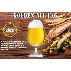 KIT BIRRA E+G GOLDEN ALE (20 LITRI)