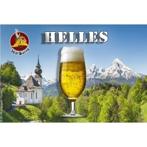 KIT RICETTA ALL GRAIN B&W - HELLES 25 LT