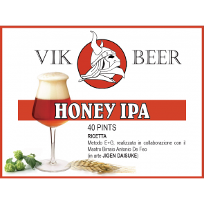 VIK BEER HONEY IPA E+G