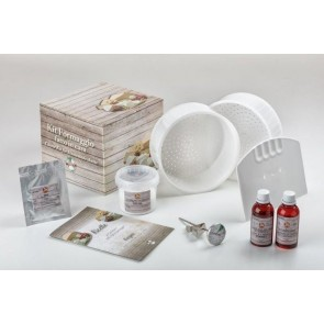 KIT CAMEMBERT TERMOMETRO INOX + COLTURA