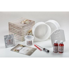 KIT CAMEMBERT TERMOMETRO DIGITALE + COLTURA VEGETARIANO