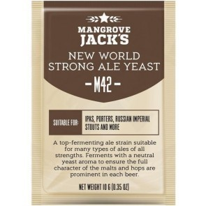LIEVITO MANGROVE JACK'S M42 NEW WORLD STRONG ALE (10 GR)