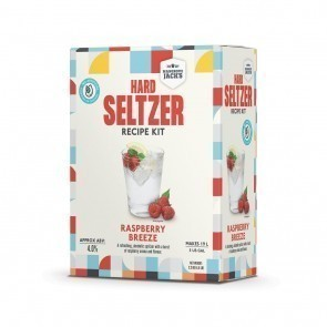 MANGROVE JACK'S RASPBERRY BREEZE HARD SELTZER 2.2 KG