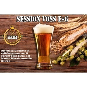 KIT BIRRA E+G SESSION VOSS (20 LT)