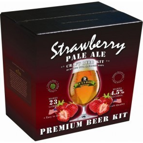 BULLDOG STRAWBERRY PALE ALE (KG. 3,1)