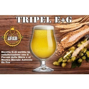 KIT BIRRA E+G TRIPEL (20 LT.)