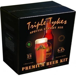 BULLDOG TRIPLE TYKES EXPORT ALE (KG. 4)